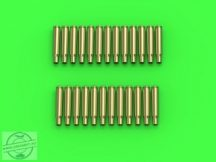 M1919 Browning .30 caliber (7.62mm) - empty shells (25pcs)- 1/35