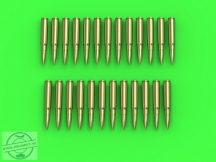MG-34/MG-42 (7.92mm) - cartridges (25pcs) - 1/35