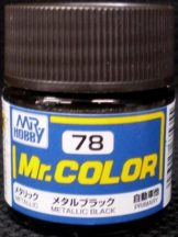 C78-Mr. Color - Metallic Black