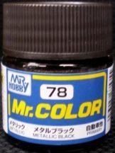 C78-Mr. Color - Metallic Black