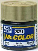 C321--Mr. Color - light brown