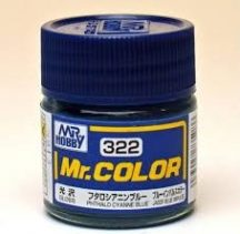 C321--Mr. Color-Gloss Phthalo Cyanne Blue