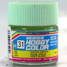 H31-Hobby color - White Green