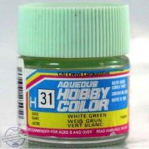 H31-Hobby color - White Green