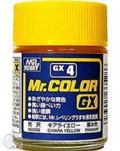 GX 004 - Mr. Color Chiara Yellow Gloss - 18 ml