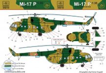 Mi-17 P decal sheet for Trumpeter kit 1:35