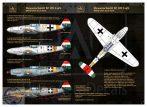 Messerschmitt Bf 109 F-4 yellow 17, V-+03, V-+07, yellow 7) Reprint