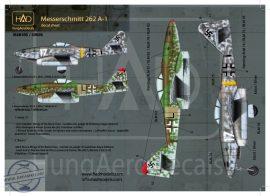 """Messerschmitt Me 262 A-1 (Luftwaffe black """"L"""", white 17)"""