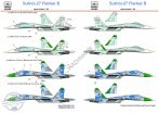 Su-27 Fanker B( Russian AF 51, Ukraine AF Blue 27 and Blue 31