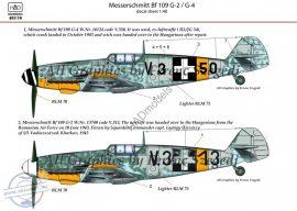 Messerschmitt Bf 109 G-2/G-4 (HunV.3+13; V.3+50)