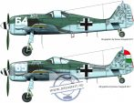 """FW-190 F-8 ( 64 """"Ági"""", 65 """"PÖTTÖM"""")"""