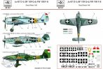 Bf 109 G-6; FW 190 F-8 ;JU-87D-5 – Magyar jelzésekkel