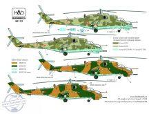 Mi-24 D / V / P Magyar szolgálatban matrica