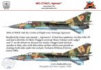 "Mig-23 MLD ""Agressor"" - 1/48"