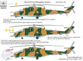 "Mi-24D/V ""Eagle Killers"" + Extra Stencils - 1/48"