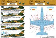 Aero L-39 part 1. (magyar nagyjavítás utánni festések)