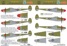 P-38F/G Lightning - 1/48