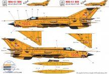 MiG-21 Bis Cápeti + bonus Számsor és ék matrica - 1/48