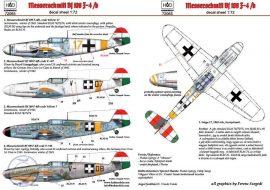 Messerschmitt Bf 109F-4/b - 1/72