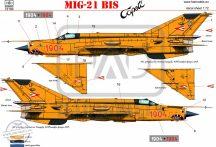 "MiG-21 Bis ""Cápeti"" matrica"