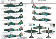 IL-10 late Part 2 decal sheet 1:72