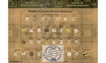 Waffen SS division markings - 1/72
