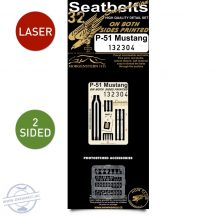 P-51 Mustang - Double-sided Seatbelts 1/32