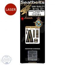Hawker Tempest Mk.V - Seatbelts 1/32