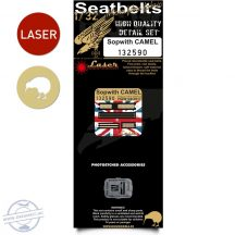 Sopwith Camel - Seatbelts 1/32