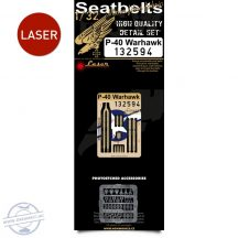 P-40 Warhawk - Seatbelts 1/32