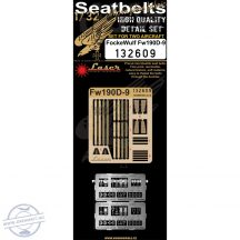 Focke Wulf Fw190D-9 - Seatbelts  - 1/32