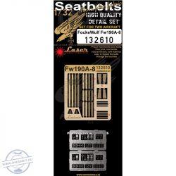 Focke Wulf Fw190A-8 - Seatbelts  - 1/32