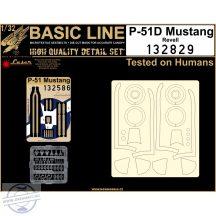 P-51D Mustang (Revell) - Basic Line Plus  - 1/32