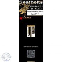 Fw 190 (early) - Seatbelts -1/48
