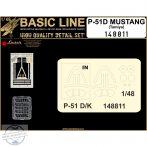 P-51D Mustang (Tamiya) - Basic Line Plus - 1/48