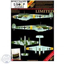 Bf 110C-7 - S9 + LP + 235035 +36 + 37 + 2x Daimler Benz Serials - 1/32
