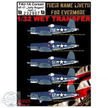 "F4U-1A VF-17 ""Jolly Rogers"" - Part 3 - 1/32"
