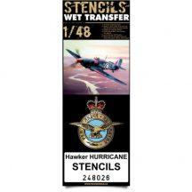 Hawker Hurricane stencils