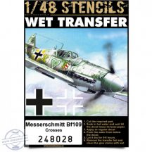Messerschmitt Bf109 - Crosses 1/48