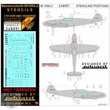 Bf109G-2 - Stencils 1/48