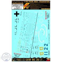 Fw190D-9 Bodenplatte - Markings + Stencils -  1/48