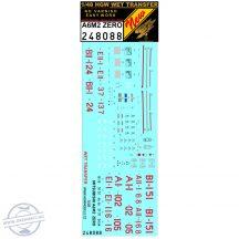 A6M2 Zero - Markings + Stencils - 1/48