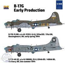 B-17G Flying Fortress - 1/48