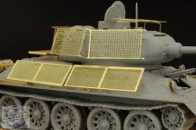T-34/85 Improvized schurzen - 1/48