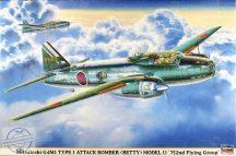 Mitsubishi G4M1 Type 1 Attack Bomber (Betty) Model 11 - 1/72