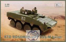 KTO Rosomak with OSS-M turret