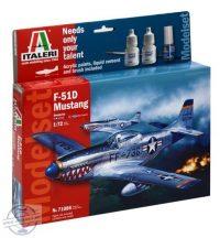 F-51D MUSTANG - MODEL SET - 1/72
