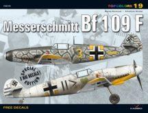 Messerschmitt Bf 109 F (decals) matricával