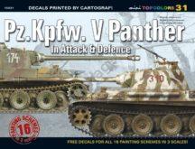 Pz.Kpfw. V Panther In Attack & Defence (matricával)