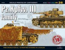 Pz.Kpfw. III family (matricával)